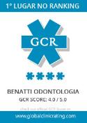 logo gcr ranking clínica benatti odontologia