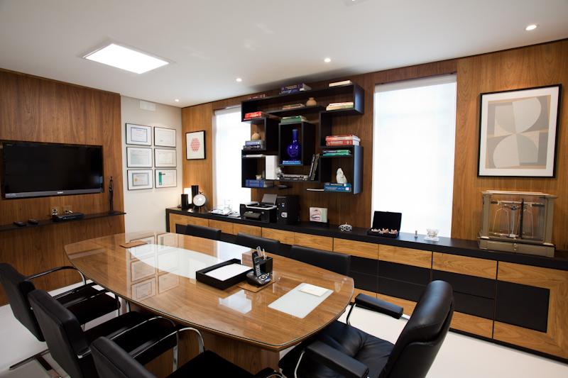 sala de reunião clínica benatti odontologia
